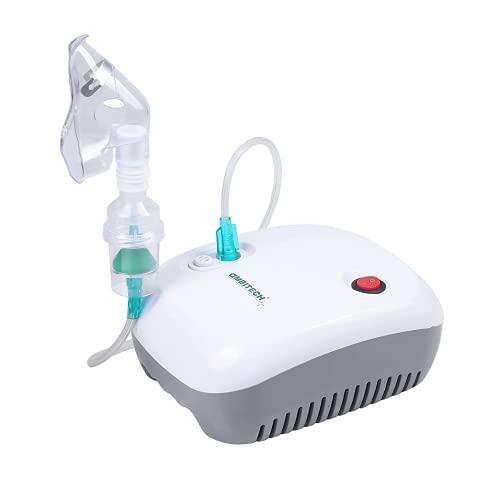 AmbiTech NC-11Compressor Nebulizer Machine Kit White (1 YEAR...