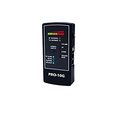 Spytec Pro-10G Small and Portable Bug & Wiretap Detector with Detection for Analog & Digital Devices Up to 40 Feet