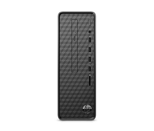 HP Slim S01-aF0013ng Desktop PC (AMD Athlon 3050U, 4GB DDR4 RAM, 256 GB SSD, AMD Grafik, Windows 10) schwarz