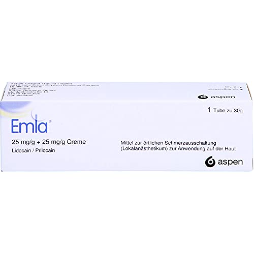 Emla 25 mg/g + 25 mg/g Creme