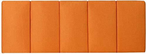 OYY Manufacture Cojines Almohada de la Cama sin Relleno de cabecera Lea el Soporte del Rollo del Cuello con la Cubierta Lavable extraíble, 4 Colores (Color : B, Size : 180x60cm)