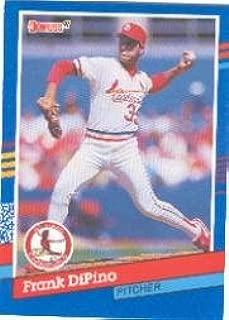 1991 Donruss Baseball Card #360 Frank DiPino