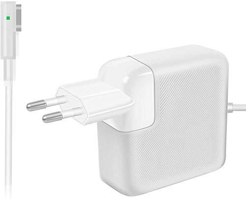 "AndMore Cargador Compatible con Mac Air 45w, Forma de L para Adaptador para Apple Mac Air 11 13""-Principios 2008 a Mediados 2011(A1237 A1304 A1369 A1370)"