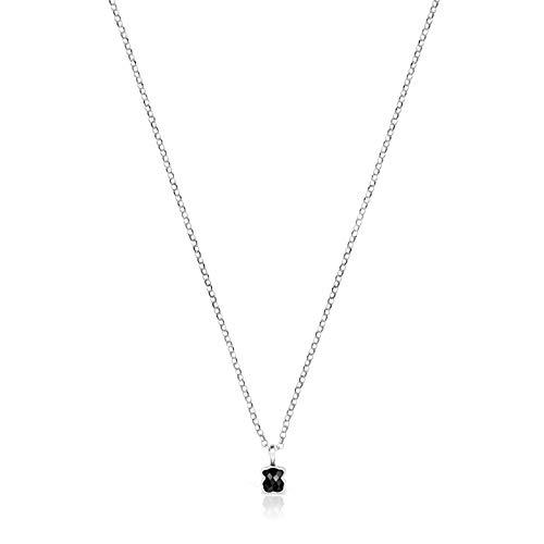 "TOUS Collar Mini Onix de Plata con Ã""nix (918452520)"