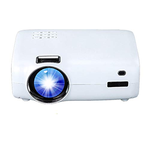 Proyector Portátil Proyector Led Inteligente Android 9.0 Soporte WiFi Full HD 1080P 4K Mini Beamer Home Cinema Película Video E600Noneandroid