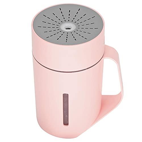 HERCHR Humidificador de Coche 420ml pequeño humidificador difusor humidificador de Escritorio humidificador de habitación para Oficina en casa