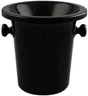 WJCCY Wine Tasting Spittoon Black Bucket Award-winning store Challenge the lowest price of Japan ☆ Dump