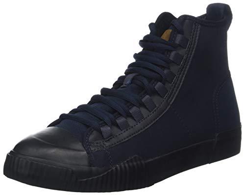G-STAR RAW Herren Rackam Scuba Mid Hohe Sneaker, Blau (Dk Saru Blue 6486), 45 EU