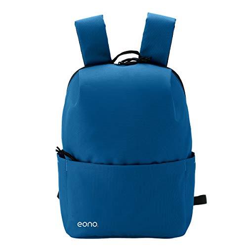 Eono by Amazon - Mini Zaino Ultraleggero Unisex, Stile Casual, Capacità 10 L, Impermeabile, Multiuso per Trekking, Attività all\'aperto, Viaggi (Blu)
