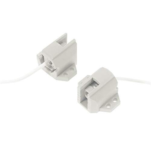 WELSUN 1 Par R7S Socket Bases de cerámica luz Titular de composición Doble lámpara de haluro de Metal (Size : 10pcs)