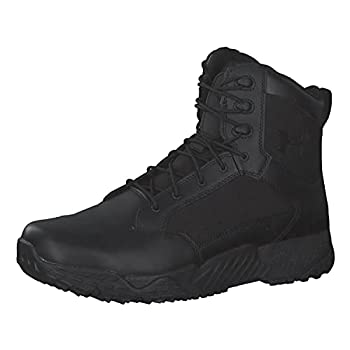Under Armour mens Stellar Military and Tactical Boot Black  001 Black 10.5 US