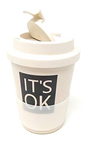 Kucly Tazas de Café para Llevar con Tapa Térmica y Diseños Bonitos/Reutilizable/Eco-Friendly...