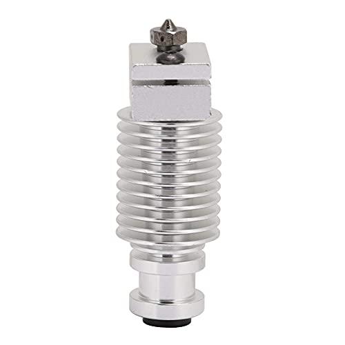 ASHATA Aggiornamento radiatore estrusore da 1,75 mm,Sostituzione Testina di Stampa 3D Hot-End Estrusore,Estrusore Accessorio Stampante 3D,Ugello Hotend PT100 V6,per Hotend Remoto MK3 e PRUSA I3 MK3