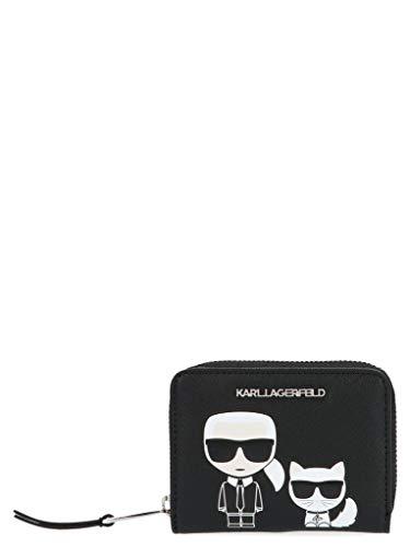 Luxe Mode | Karl Lagerfeld Womens 20KW201W3202ZWART Zwarte Portemonnee |