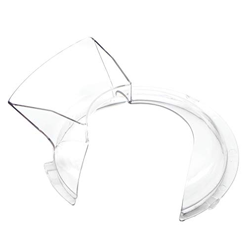 Pulluty W10616906 Pouring Shield Compatible with Kitchen-Aid and Whirlpool Mixers 4.5 and 5 quart - Replaces 3177975, 3177976, 3177977, 4162314, 4163467, WPW10616906, AP6023411-1 PACK