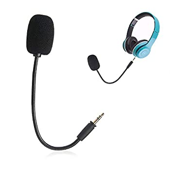 Ninge Replacement Mic-3.5mm for Turtle Beach Ear Force XO ONE Stealth 420X Recon 320 Z60-PDP Afterglow AG 6 Wired Xbox One PS4 Gaming Headset Use with TIK tok