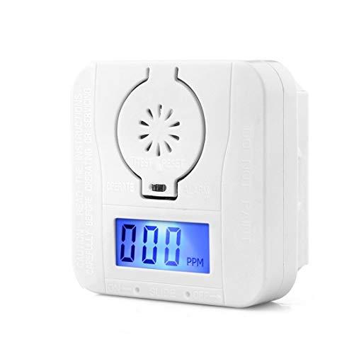 Veiligheid mini CO koolmonoxide rookmelder alarm Poisoning gaswaarschuwing sensor veiligheidswaarschuwing met LCD-scherm