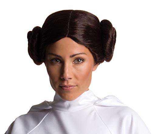 Secret Wishes Adult Star Wars Princess Leia Costume Wig