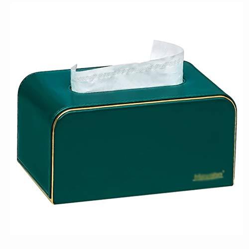 Tissue Holder Box Disegna la scatola del tessuto del tessuto del desktop della scatola del tessuto della carta, il supporto del tovagliolo di casa moderno di stile semplice, per il bagno o la camera d