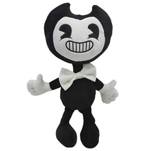 EASTVAPS Muñeca de Bandy y Tinta muñeca de Juego de suspenso Bendy Juguete de Peluche 30 cm