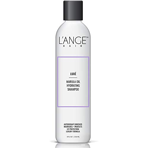 L'ange Hair LUXÉ Marula Oil Hydrating Shampoo - Marula Oil, Antioxidant Properties & Paraben Free - Professional Salon Grade Care - Best for Damaged, Dry, Frizzy & Color Treated Hair - 8 Fl Oz, 22