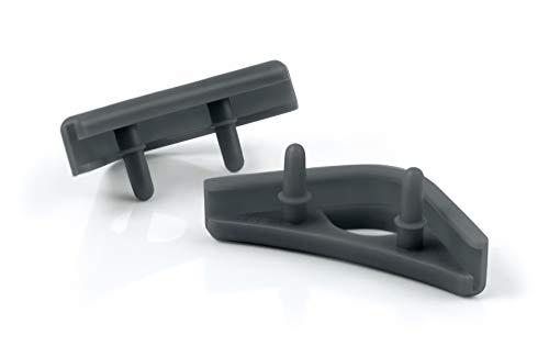 Noctua NA-SAVP1 chromax.Grey, Anti-Vibration Pads for 120/140mm Noctua Fans (16-Pack, Grey)
