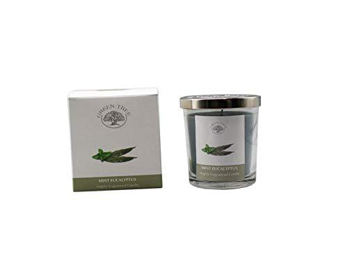 Green Tree Geurkaars Mint Eucalyptus Glas, 200 g