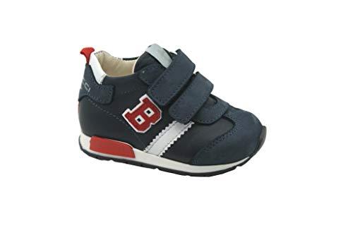 balducci Scarpe Bambino Sneakers cl. Strappo CSPO3754 Blu Tg. 22