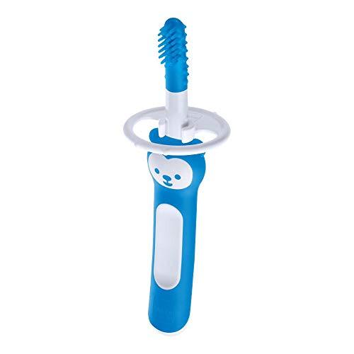Massageador Mam Massaging Brush (3+ Meses) - Azul, Azul, (3+ Meses)