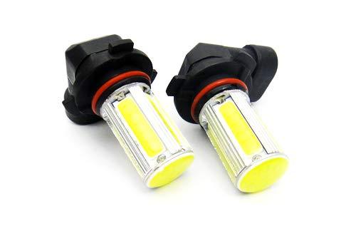 Lot de 2 ampoules LED COB 9005 HB3 9145 H10 pour feux de position, feux de circulation diurnes, feux de brouillard