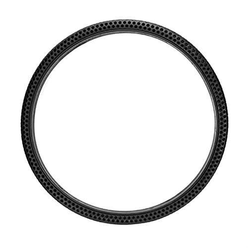 Marekyhm-uk 26 * 1.5 Bicycle Solid Tire 26 Inch Non-pneumatic Airless Non InflationTire Do Not Need Tube (Color : Black)