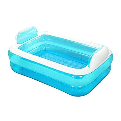 CZYNB Bañera Inflable plástica Tubo Plegable Espesar de baño para Adultos Bañera para niños Bañera de bañera de bañador Barril