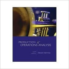 Productions & Operations Analysis