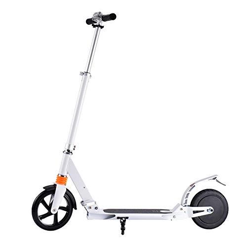 Ajac Opvouwbare elektrische step, 8 inch accu, 3 seconden instelbaar, draagbaar, met anti-skibanden, voor volwassenen en adolescenten