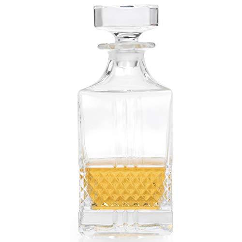 RCR 51592020006 Brillanter Whiskey-Dekanter, 850ml, Kristall, Karaffe