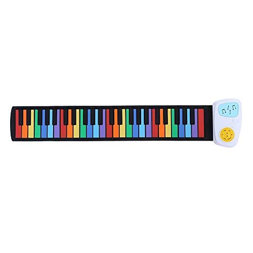 Fockety Piano eléctrico, Juguete Musical Principal, Teclado...