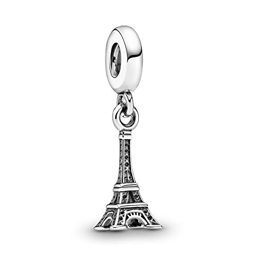 PANDORA Eiffel Tower Dangle Charm, Sterling Silver, One Size
