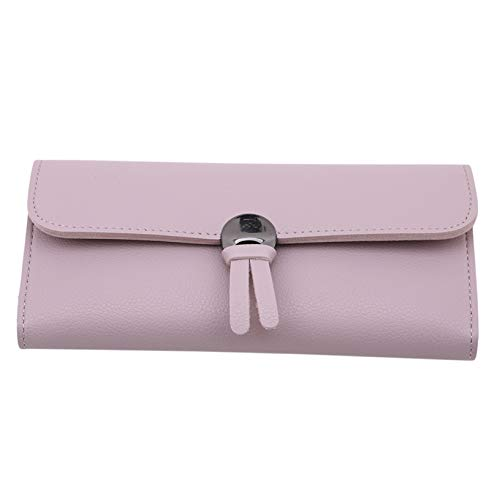 GOMYIE Simple Cute Snap Wallet Folding Multi-Card Bag For Women And Girls