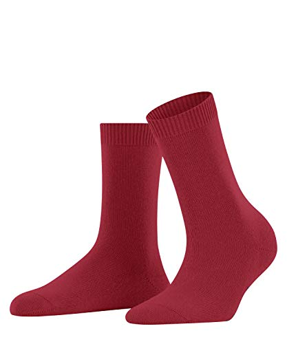 FALKE Damen Cosy Wool W SO Socken, Rot (Scarlet 8228), 39-42