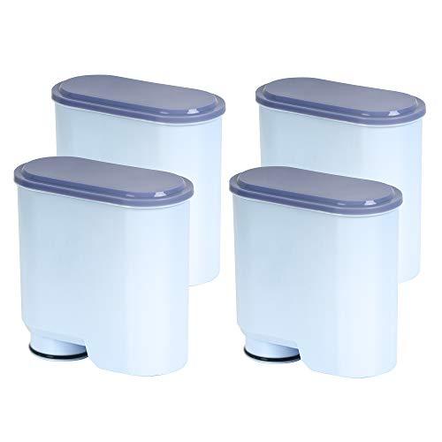 XtraCare Wasserfilter für Saeco und Philips Kaffeevollautomaten, Wasserfilter Kompatibel mit Philips/Saeco AquaClean Kaffeevollautomat (4er Pack)