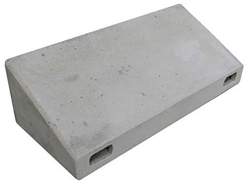 Naturschutzprodukt Mauersegler Nistkasten Nisthöhle Nisthilfe Mauersegler-Keilkasten (Drempelkasten) aus Holzbeton Höhe 20 cm