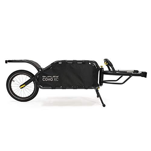 Burley Design COHO XC, Single Wheel Cargo Bike Trailer, Yellow, one Size (935102)