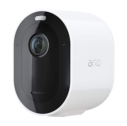 Arlo Pro3 VMC4040P 2K HDR Smart Home Security Add-on Camera, Indoor/Outdoor, Colour Night Vision, 160 Degree View, 2-Way Audio, Spotlight, Siren, (Pro3 SmartHub Needed), White