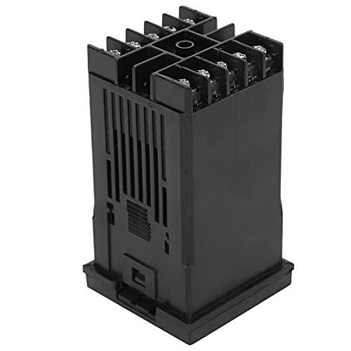 Controlador de temperatura Interruptor de termostato con pantalla digital Alta precisión, fácil y simple de operar Seguro y estable, y tiene una larga vida útil