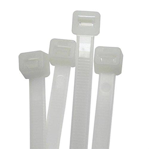 100x Kabelbinder 200 x 7,2mm weiss ; Industriequalität