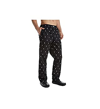 Polo Ralph Lauren Men s Multi-pony Pj Woven Pajama Pants  Large Black