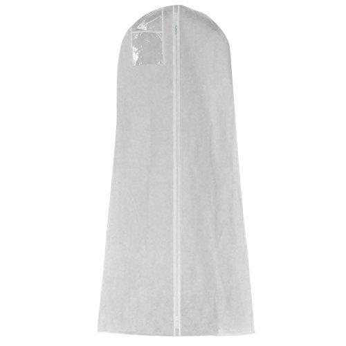 Eillybird Extra groot kledingstuk bruidsjurk kledingrek stofhoes lange kleding beschermhoes vlies stofdichte afdekkingen opbergtas voor bruidsjurken