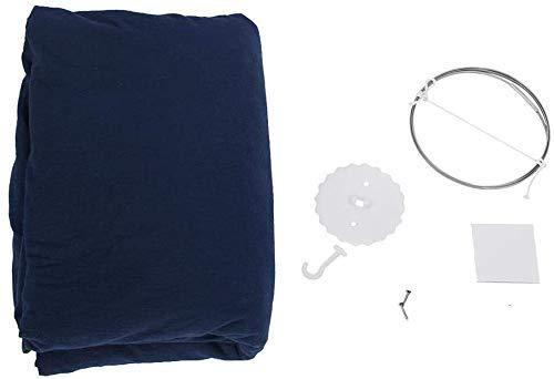 SEESEE.U Kinderbett Baldachin mehrfarbige runde Kuppel hängende Bett Baldachin Moskitonetz Vorhang für Baby Kinder Spielen nach Hause Himmelbett Kinderbett Dekor - Königsblau