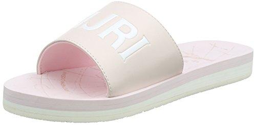 NAPAPIJRI FOOTWEARAriel - Sandalias con Punta Abierta Mujer, Color Rosa, Talla 36