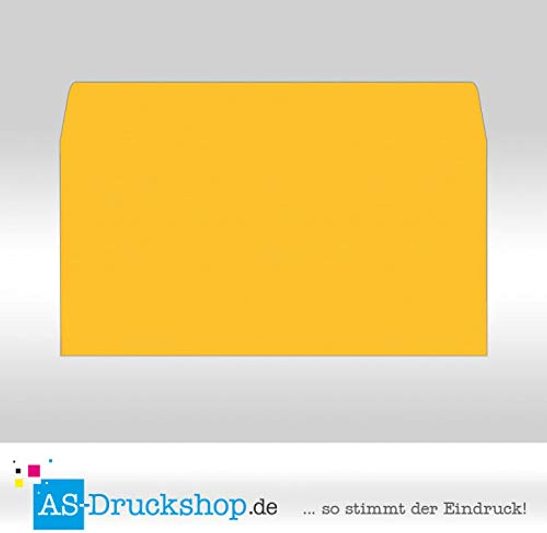 Briefumschlag KuGrün - Soleilgelb - mit Seidenfutter Din Lang   100 Stück B0794YRYN6 | Produktqualität